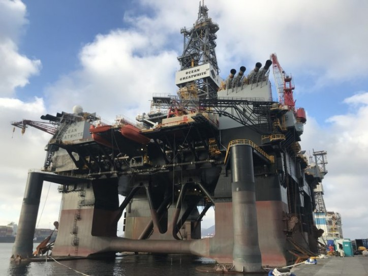 Kishorn Port to prepare world's largest semi-submersible rig for new gig