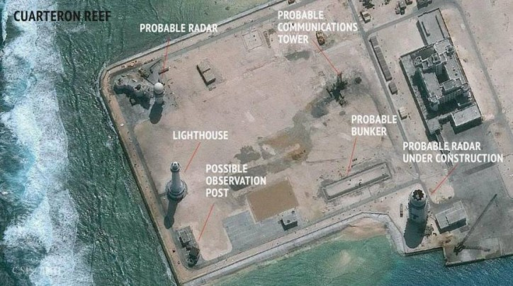China's radar projects in disputed waters bigger threat than missiles, report says