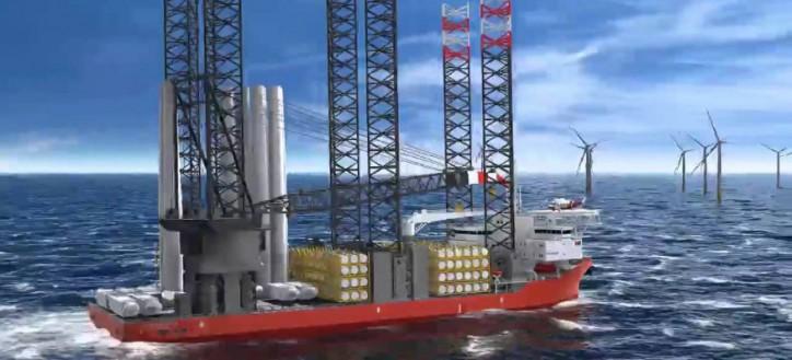 COSCO Corporation Singapore signs Shipbuilding Contract For One Multi Purpose Wind Farm Support Unit