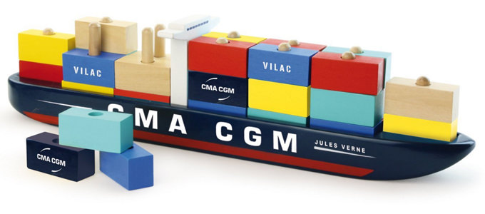 CMA CGM Launch First Wooden Containership