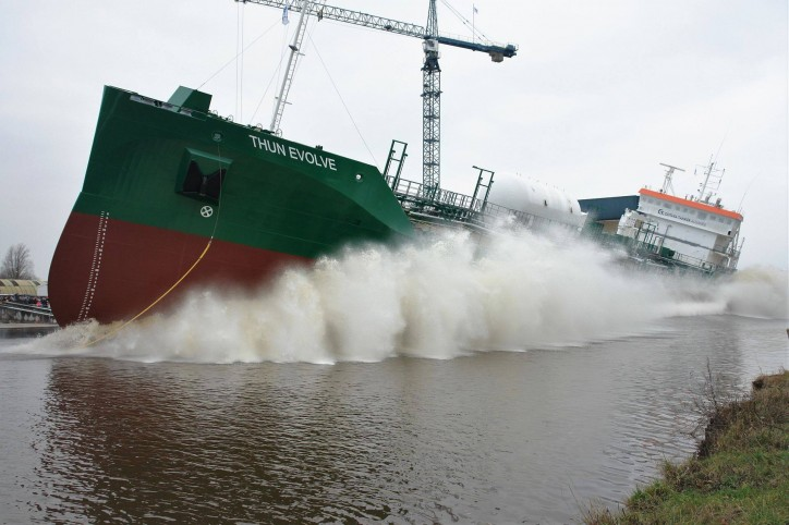 Ferus Smit Nb. 444 - Thun Evolve - successfully launched (Video)