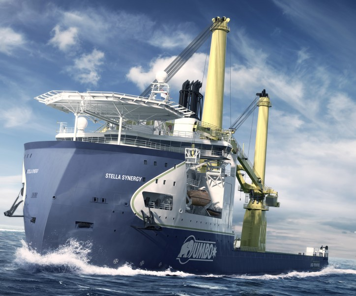 Jumbo names new offshore vessel Stella Synergy