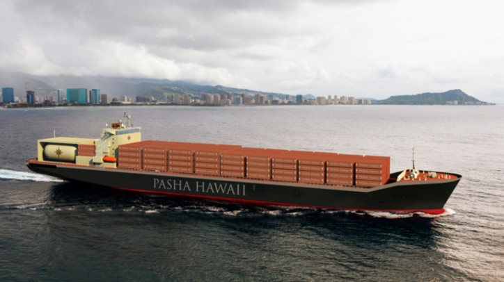 Pasha Hawaii announces construction of two new containerships at Keppel AmFELS