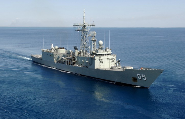 Australian warship HMAS Melbourne makes 2nd big drug bust