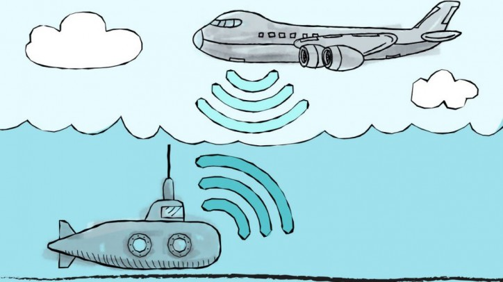 MIT a step closer to enabling wireless communication between planes and subs