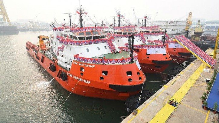 LUKOIL puts ice class vessels into service in the Caspian Sea