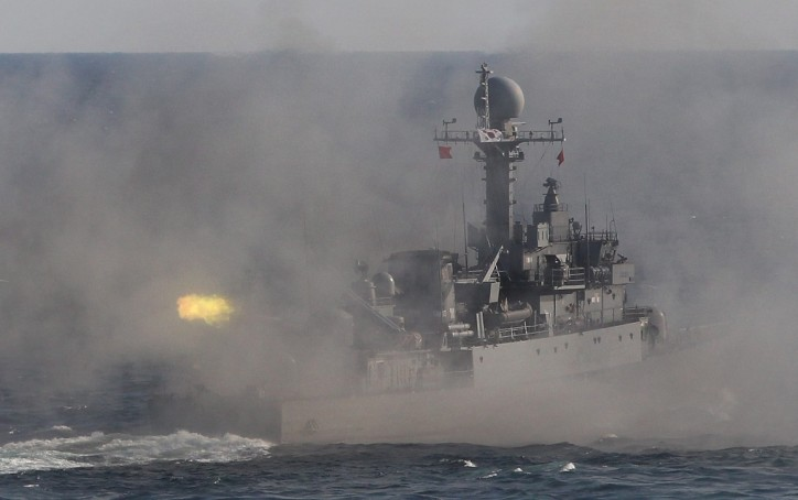 South Korean navy ship fires warning shots at North Korean patrol boat
