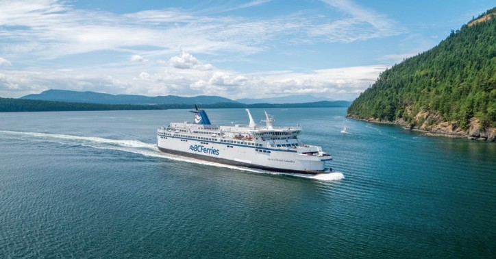 BC Ferries wins award for converting The Spirit of British Columbia to LNG