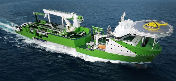 DEME secures submarine cable installation contract for Elia Modular Offshore Grid