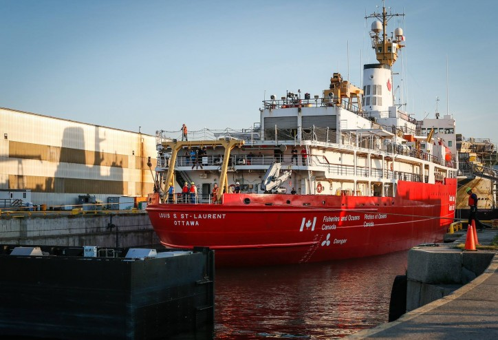 Davie Shipyard signs $14m contract for the upgrade and refit of Canada's heaviest icebreaker – CCGS Louis St Laurent