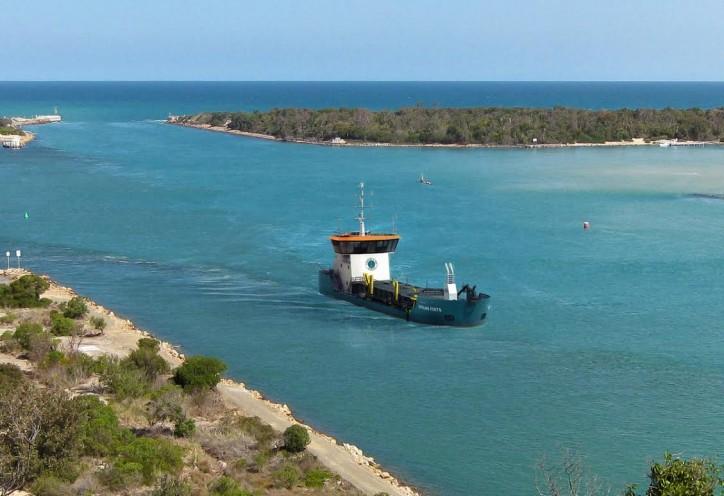 First Damen dredger to operate in Australia