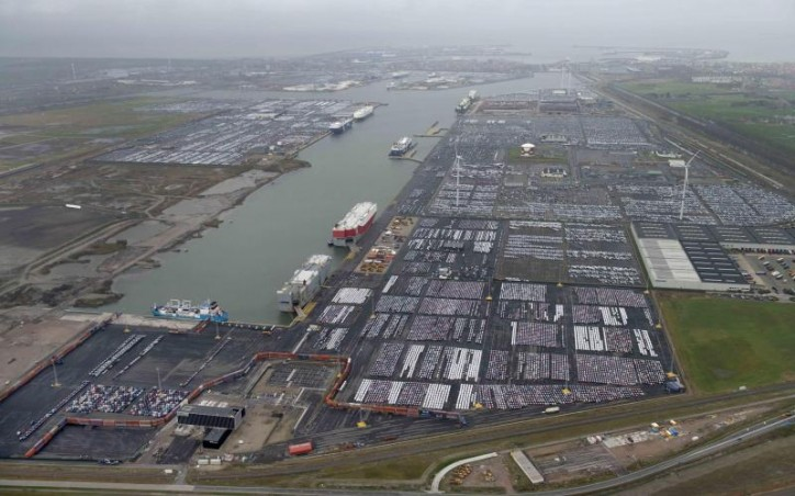 ICO signs concession agreement with Port of Zeebrugge for a 54 ha expansion of the Bastenaken car terminal