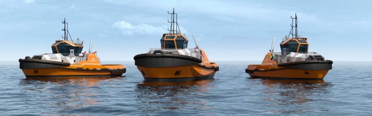 Wärtsilä HY hybrid tug design for Chinese market launched at Marintec