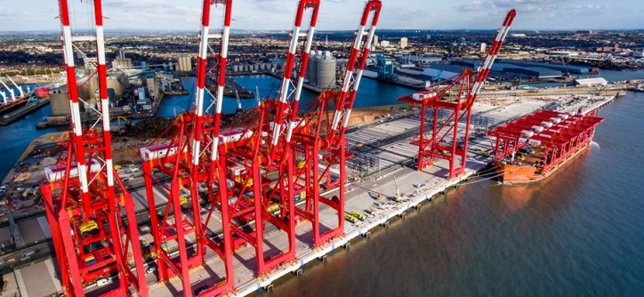 Official Opening Of Peel Ports £400 Mln Liverpool Container Terminal (Video)