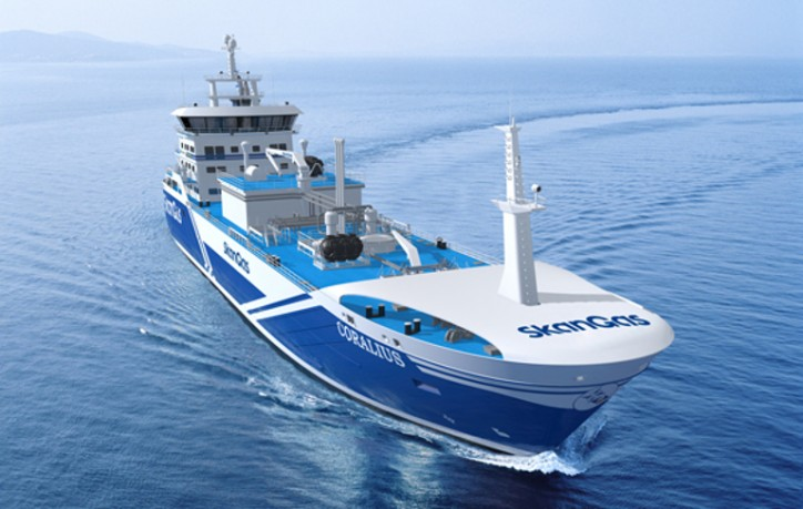 Skangas' new LNG bunker vessel arrives in June 2017