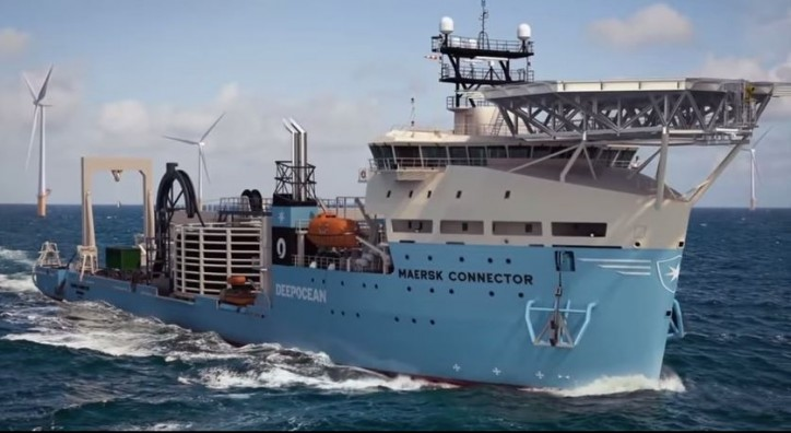 Deepocean awarded cable installation contract for Dong Energy's Walney Extension Wind Farm