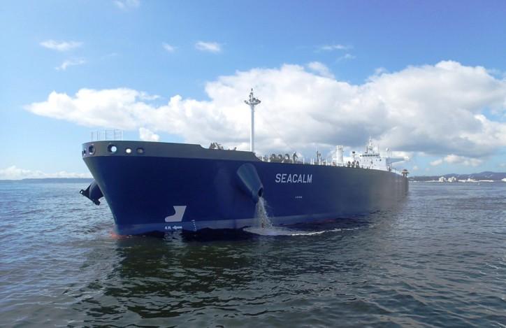 Aframax tanker Seacalm joins Thenamaris-managed fleet