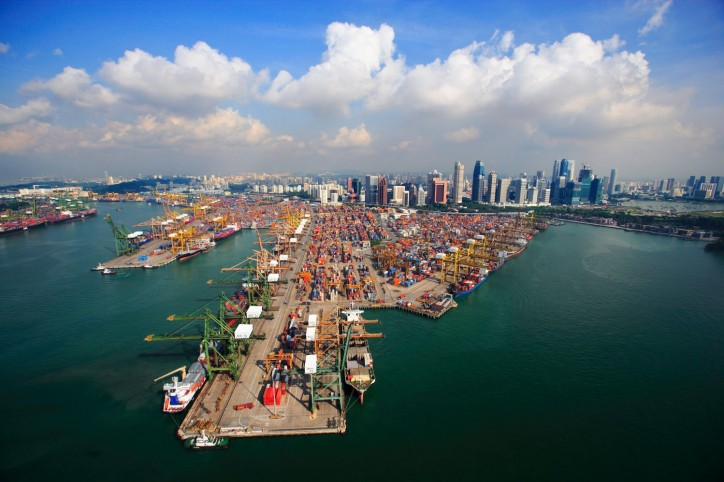 Port of Singapore Marks 8th Month of Container Volume Dips