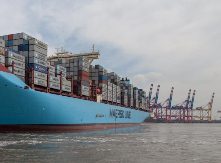 Maersk Line, nominee for CSR award at Containerisation International Awards 2015