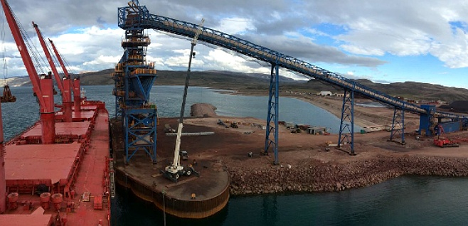 ESL Shipping's ice-strengthened supramax vessel Arkadia contracted to transport iron ore from Canada to Germany