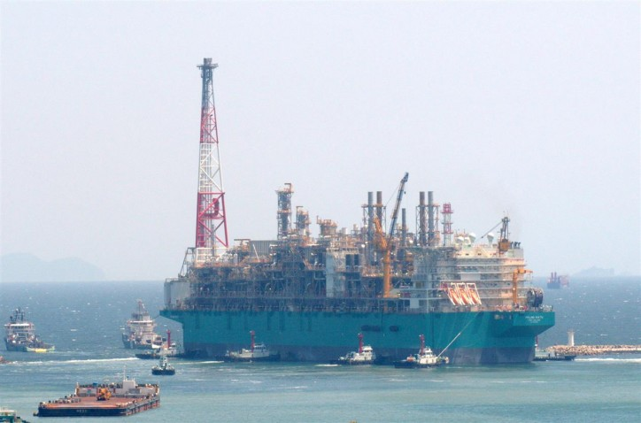 PETRONAS' First Floating LNG Facility, PFLNG Satu Sets Sail To Malaysia