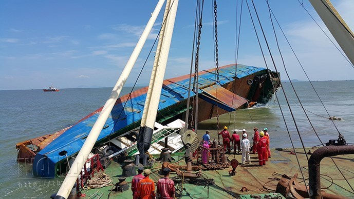 Update: Body of last crewman from capsized cargo ship found in southern Vietnam