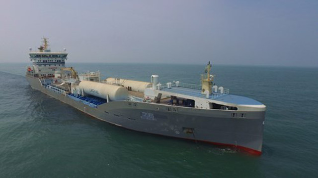 Terntank's first 15000DWT Chemical Tanker with WinGD X-DF engine passed sea trials (Video)