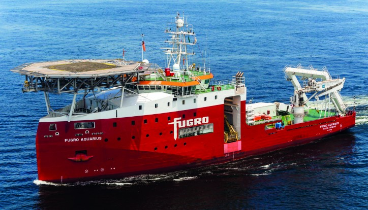 Fugro continues inspection, repair and maintenance services for Petrobras in Brazil