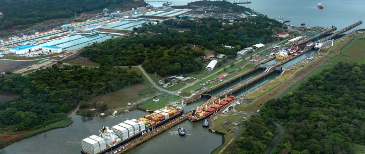 Panama Canal Sets Daily Tonnage Record in February