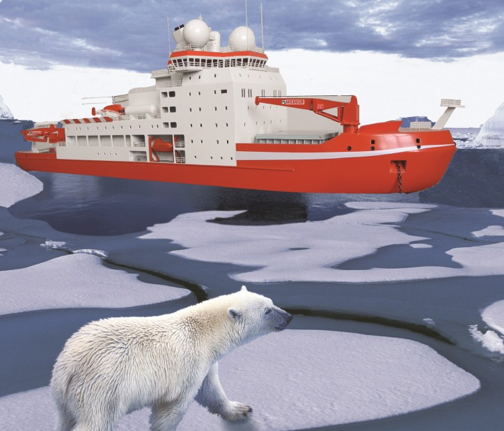 Advanced MacGregor technology serves new polar research ship