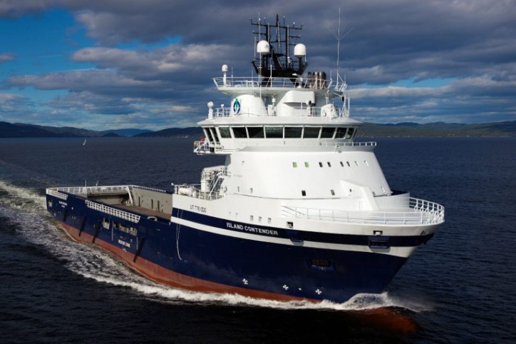 Lundin Norway charters two Island Offshore's LNG-powered platform supply vessels