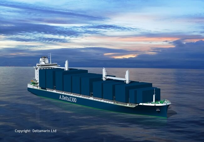Deltamarin Unveils Future Container Feeder Design
