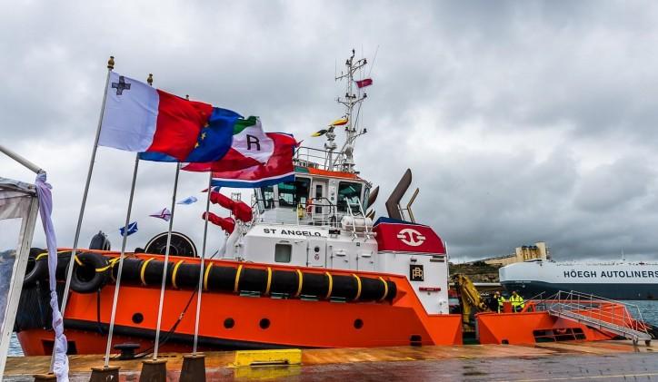 Tug Malta's Damen ASD 2913 named in Malta