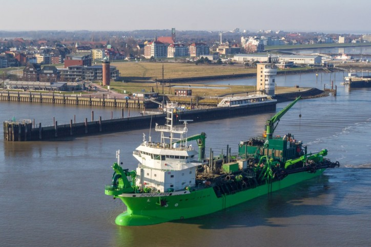 DEME awarded a major dredging contract to carry out the deepening of the Elbe fairway in Germany