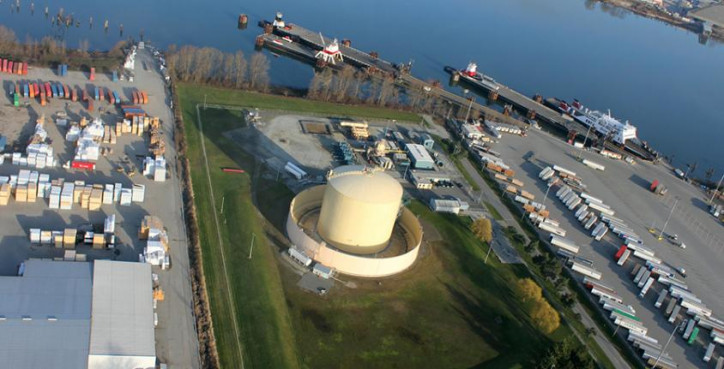 FortisBC secures first export contract for Tilbury LNG facility