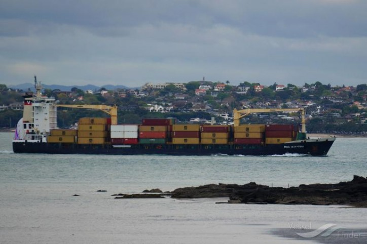 Container ship MSC Kia Ora banned from Australian ports