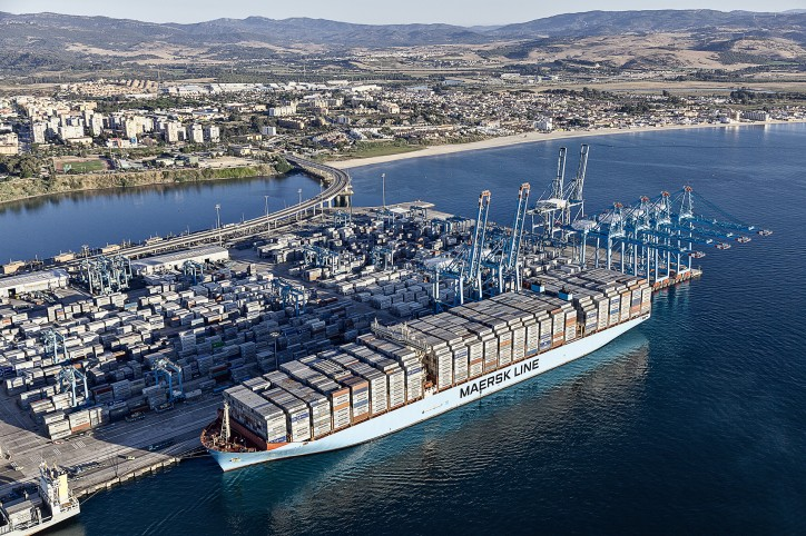 A.P. Moller - Maersk improves underlying profit and grows revenue in first half of the year