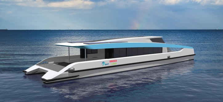BMT Launches New Hybrid 'Eco Ferry' Design