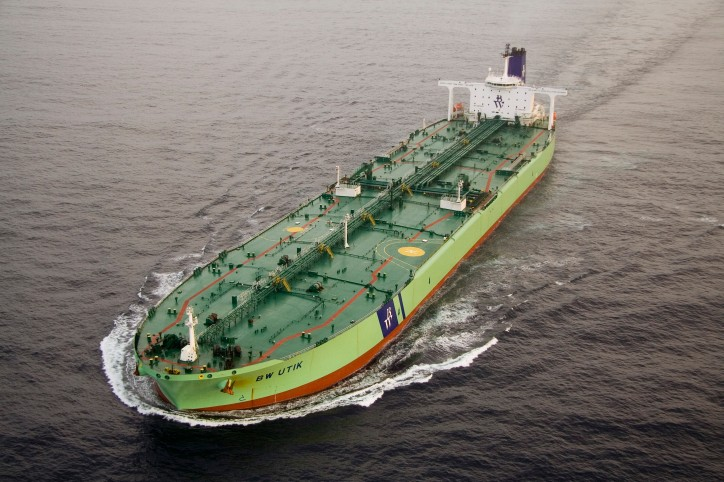 DHT Holdings Takes Delivery Of First VLCC From BW Group