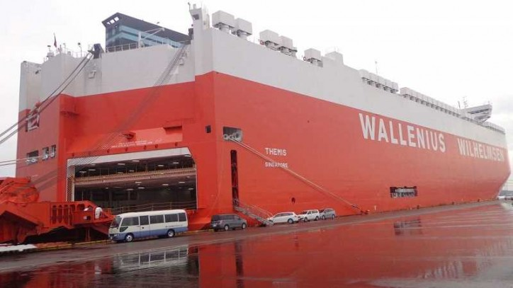 WWL Adds Vehicles Carrier Themis To Its fleet Of Neo-Panamax Vessels