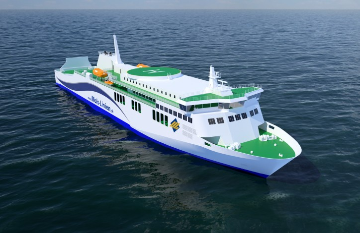 Wärtsilä 31 engine's high efficiency makes it the choice for new Danish ferry