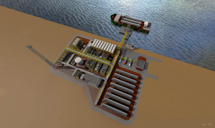 Saipem: a new technology presented for small and medium scale liquefaction of natural gas