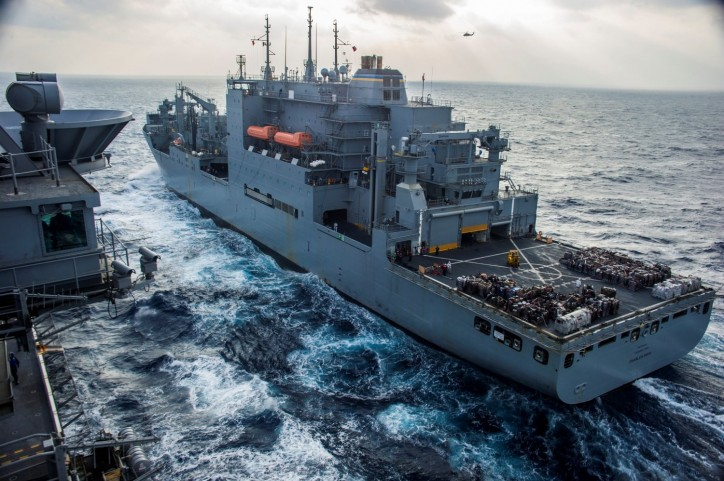 USNS Charles Drew (T-AKE-10) in the Indo-Asia-Pacific region