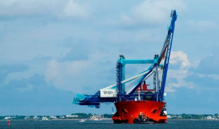 Crane Delivery Signifies South Carolina Ports Authority's Big-Ship Readiness