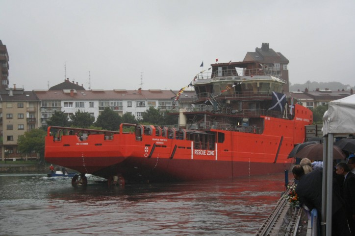 Craig Group Launched First Vessel of New Rescue Class