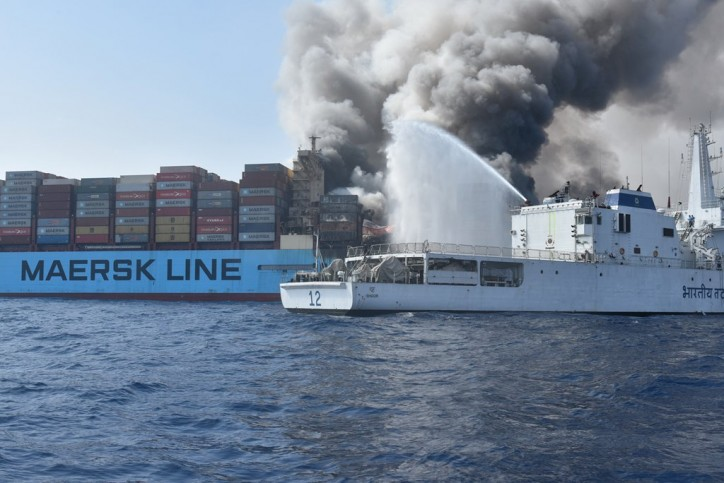 Update: Remains of three out of four of the missing crew members found onboard Maersk Honam