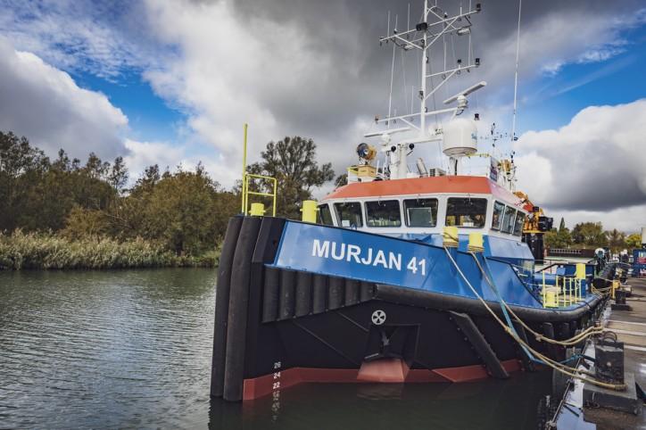Damen's triple delivery for Murjan Al Sharq Marine Contracting