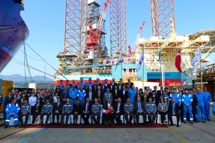 Maersk Drilling takes delivery of newbuild Maersk Invincible