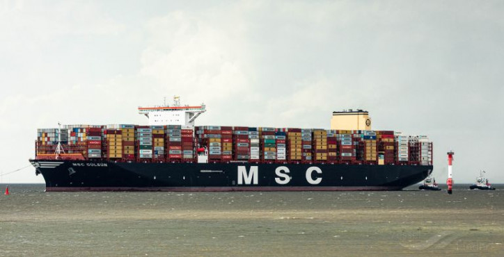 World's Largest Container ship MSC Gülsün to visit Rotterdam
