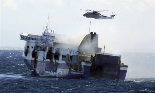 ship accidents Norman Atlantic